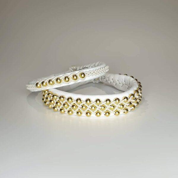Silverpärlor Guldpläterade