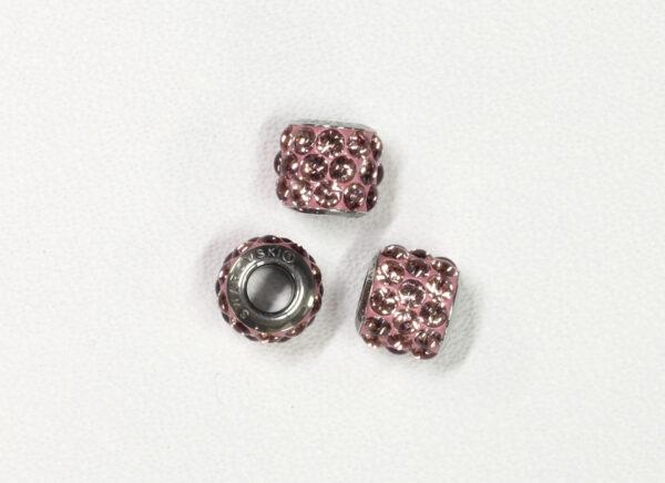 BeCharmed Pavé Cabochon Beads