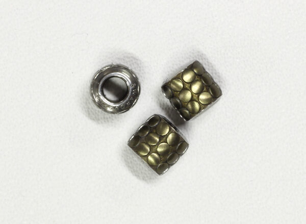 BeCharmed Pavé Metallics Beads