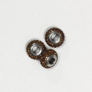 BeCharmed Pavé Slim Beads